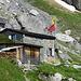 idyllisch die Spannort-Hütte