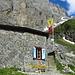 gut zu sehen der steile Aufstieg zur Schlossberglücke