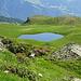 Natürlicher Bergsee
