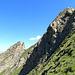 le due torri della cresta ovest,sullo sfondo il Wolfendhorn..