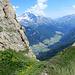 panorama stupendo sulla valle di Vizze...