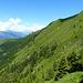 Links hinten - der Alpstein hüllt sich auch noch in Wolken.