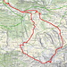 unsere Route (map.wanderland.ch)