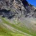 Ca parait infranchissable, comme cela, mais en fait cette montagne ressemble aux Churfirsten - l'autre côté monte en pente douce