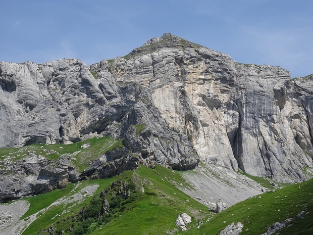 Klettersteig Bälmeten : Sattel plattistäge platti 2105m u2013 tourenberichte und fotos [hikr.org]