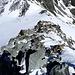 Rückblick vom Grat zum Col du Pigne!