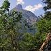 Dalla cresta possiamo finalmente vedere il Gitschen.