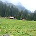 Alp Guferen - unser Startpunkt; bis hierhin sind wir mit dem Alpentaxi gefahren, was ca. 450 Hm weniger im Aufstieg macht