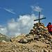 auf dem Gipfel - ganz alleine für uns