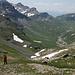 Abstieg zum Pass Diesrut