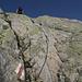 melo im Aufstieg zur Windegghütte