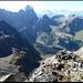 Auf dem Gipfel des Mittler Griessstocks, Blick auf Windgällen.