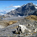 Beginn des Abstiegs vom Mittler Griessstock.