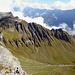 Nachtrag zur Tour über den Chärpf-Südgrat: Hier sieht man die Absätze deutlich