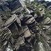 Schlechtes Gestein auch im oberen Teil vom Westgrat