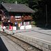 Zugabfertigung in Lüen-Castiel.