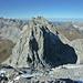 In der Bildmitte die Drusenfluh (2827m, Westgipfel), links die Schesaplana