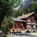 Hotel Steinbock im Gasterntal, der Ausgangspunkt unserer Passwanderung