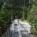 Hängebrücke über die wilde Kander