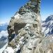 """Der Gipfel von der """"Kanzel"""" aus"""