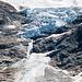 Zoom zum Triftgletscher: Eis in wunderschönem Blau