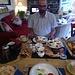 Full Scottish Breakfast. Reicht problemlos bis zum Abendessen.