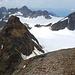 Das gleiche nochmal als Pano vom Gipfel mit der gesamten Umrundung des Ochsentaler Gletschers