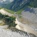Das wunderbare Gletschervorfeld des Riedgletschers
