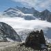 Blick vom Grossen Bigerhorn zum Ulrichshorn, Lenzspitze, Nadelhorn, Stecknadelhorn, Hobärghorn und Dirruhorn