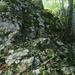 die erste kletter-/kraxelstelle mit stahlseil
