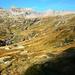Aufstieg zum Pizzo Barone - Hinterer Talabschluss des Val Chironico mit Pizzo Piodisc, Pizzo Soveltra und Pizzo Pencia