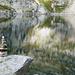 Lago Barone 2391 m wechselt seine Farbe je nach Licht/Wind/Wolken