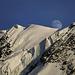 Mondaufgang über dem Breithorn