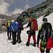 Unsere Gruppe auf dem Weg zur Britanniahütte