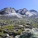 Wegen der vergangenen Schlechtwetterfront waren die Berge oberhalb von ca. 3000m alle angezuckert