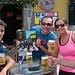 Birra e panino da Mario,Piazza Riva Valdobbia. Da sx verso dx : Alberto,Teo,Silvia e Alessandro.