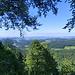 Aussicht vom Gipfel ins Mittelland