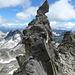 hinter dem Felszahn - wow - was hält den dort und vor allem wie lange noch?