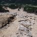 Der Erdrutsch, ausgelöst durch die Wassermassen im September 2013