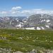 Blick nach Nordwesten, Rocky Mountains NP.