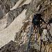 """Ein Hauch von """"Khmubu icefall"""" beim Klettersteig zum Schöllijoch"""