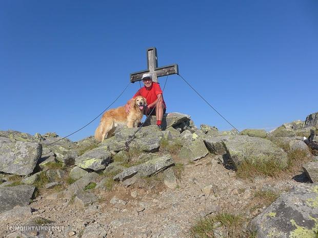 """Danke Luca, dass du mich so flott auf den Gipfel """"gezogen"""" hast...☺"""
