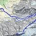 Routenverlauf<br /><br />Quelle: Swiss Map online