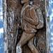 Die Strada alta wurde von einem Schaffhauser zu Beginn der 50er-Jahre ins Leben gerufen - gegen über der Osteria Ambrogini ist eine Tafel angebracht ...die hat aber mit diesem Holzschnittwerk nur gemeinsam, dass Strada Alta draufsteht und sinnbildlich das Wandern verbindet