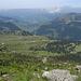 Blick über die Selamatt und Breitenalp ins Toggenburg