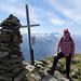 Gipfelfoto [u passiun_ch]<br />... mit Schwiizer Chäpi, denn morgen ist der 1.August