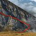 Untere Brisi-E-Flanke: Zustieg zum unteren Diagonalband