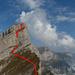 Brisi-W-Wand mit der 30m- und 40m-Abseilstelle