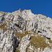 Schibenstoll-E-Flanke: Detailansicht des 1. und 2. Felsriegels