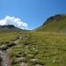 Im Abstieg zur Verbella Alpe